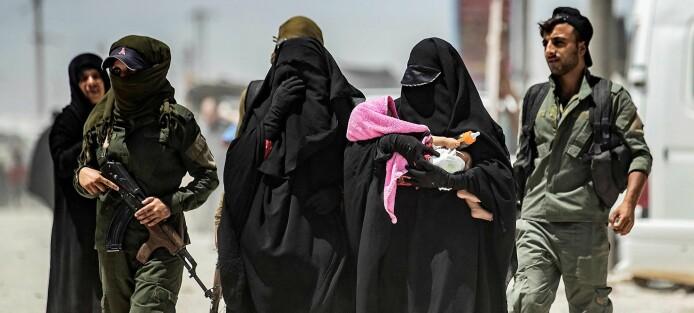 IS-kvinnene som verken ble lokket eller lurt