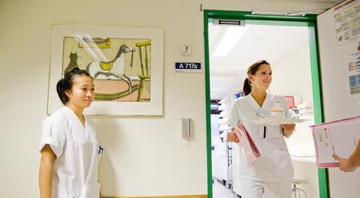 Sykepleiere kan lukte urinveisinfeksjon