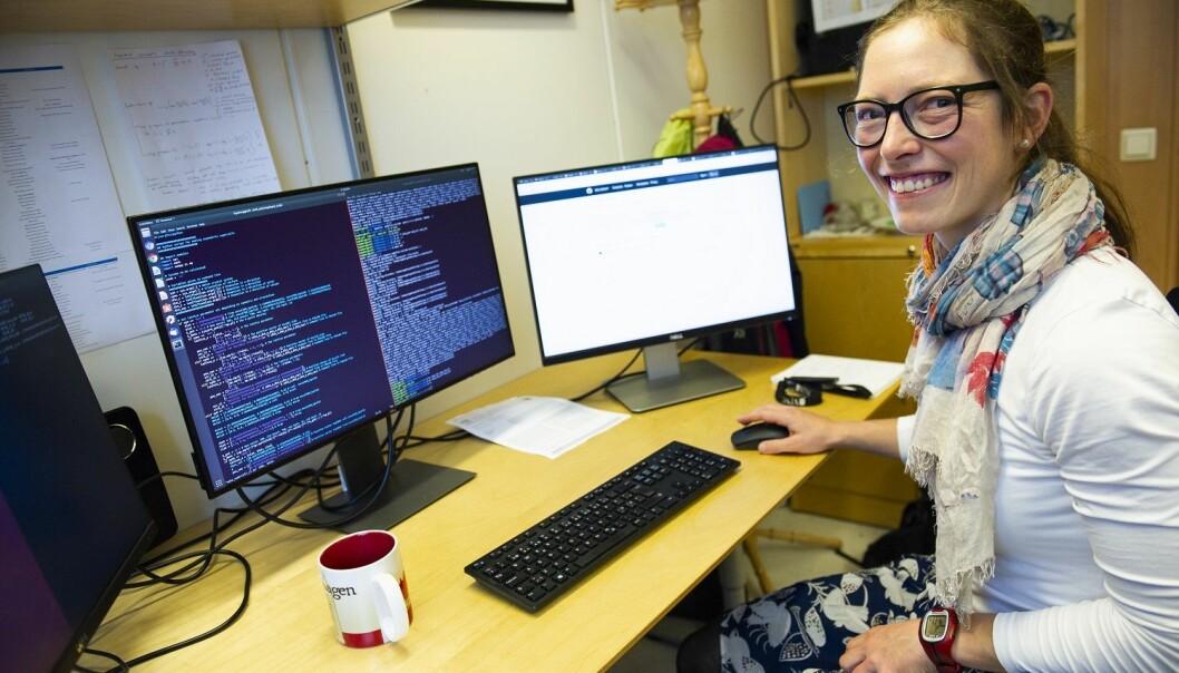 Materialteknolog ved NTNU Ingeborg Treu Røe forsker på mer holdbare og miljøvennlige batterier (Foto: Karoline Ravndal Lorentzen / NTNU)