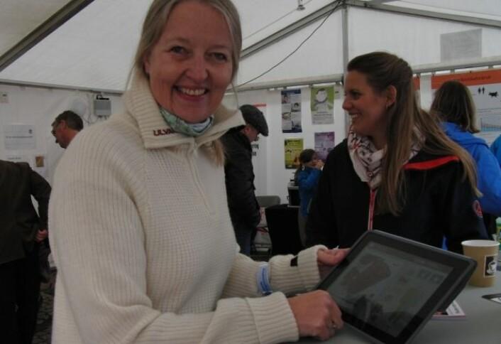 Anne Moen fra Universitetet i Oslo. (Foto: Guro Bråthen Håkedal)