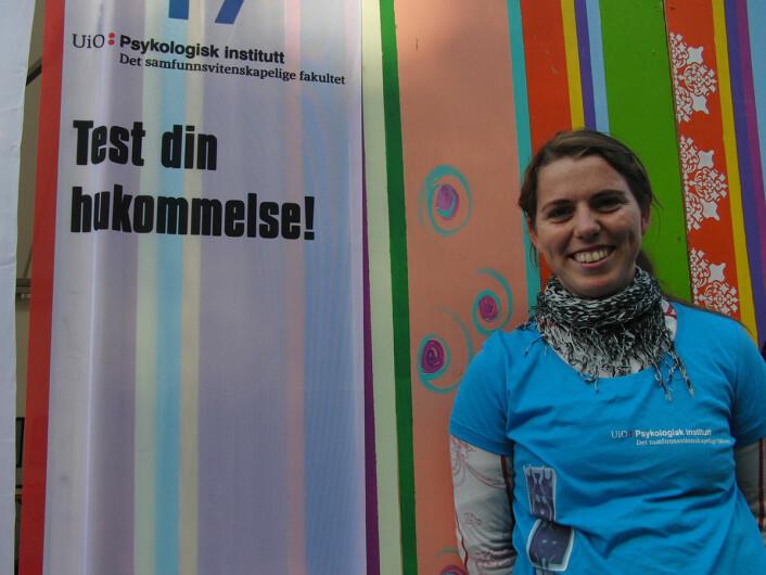 Psykologistudenten Ronja. (Foto: Kaja og Nora)