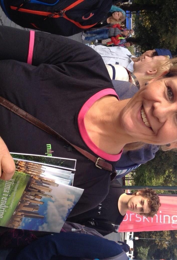 Ingrid Nissen jobber med klima og miljø. (Foto: Najma Ali og Thuy Nguyen)