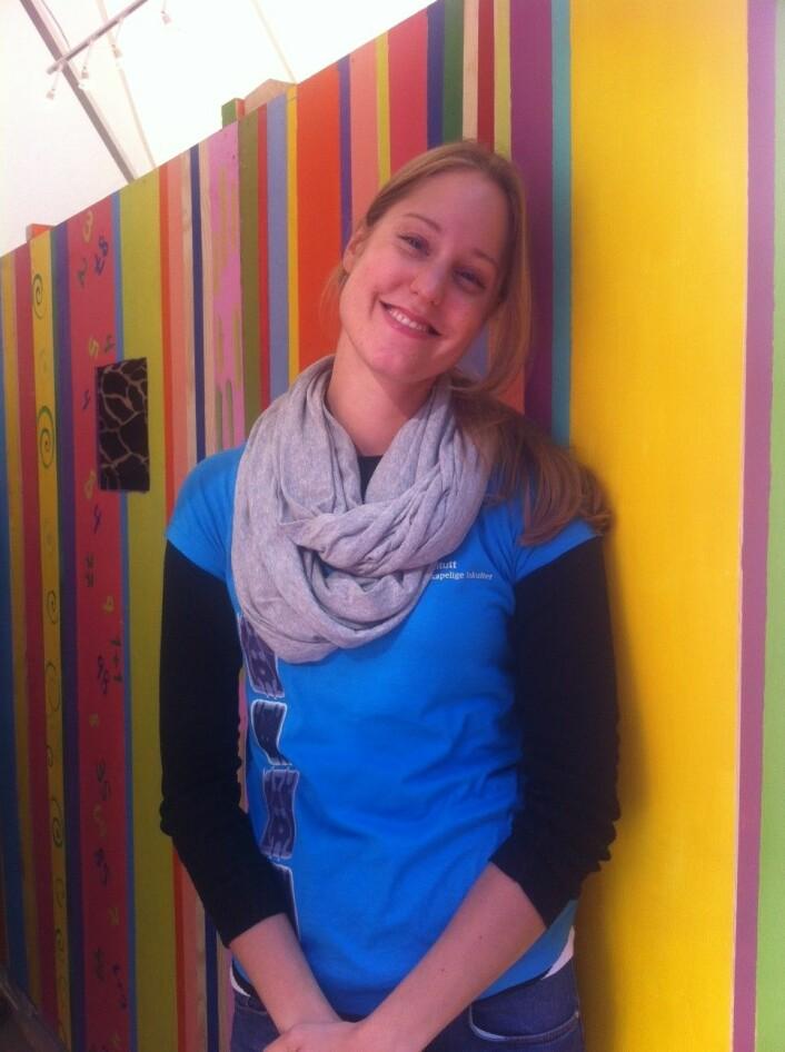 Lisa Burrell (Foto: Siw Ellen Jakobsen)