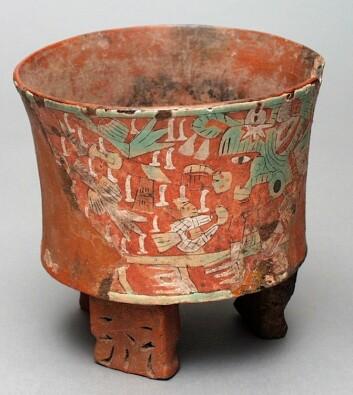Keramikk fra Teotihuacán, fra år 400-650. Krukken inngår ikke i dette forskningsprosjektet. (Foto: LACMA/Wikimedia Commons)
