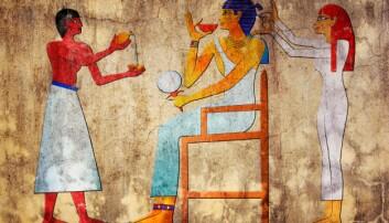 De gamle egypterne hadde leddplager