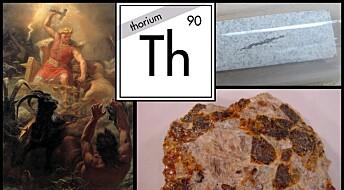 Thorium er Norges nasjonalgrunnstoff