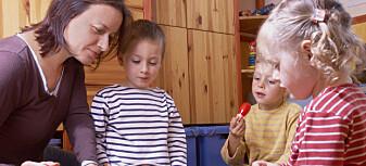 For mye ja- og neispørsmål i barnehagen