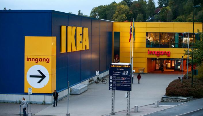 Forskerne mener IKEA lykkes med bærekraft ved å integrere økonomiske, sosiale og miljømessige sider i forretningsmodellen. (Foto: Foto: Lise Åserud / NTB scanpix)