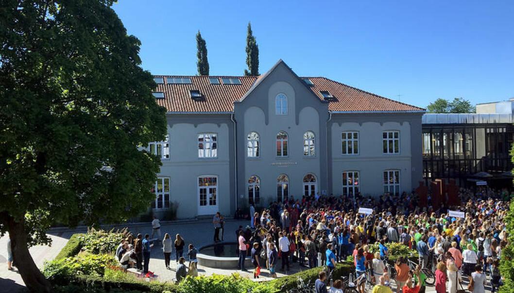 Høgskolen i Innlandet får denne uken besøk av komiteen som vurderer høgskolens søknad om å bli universitet. (Foto: HINN)
