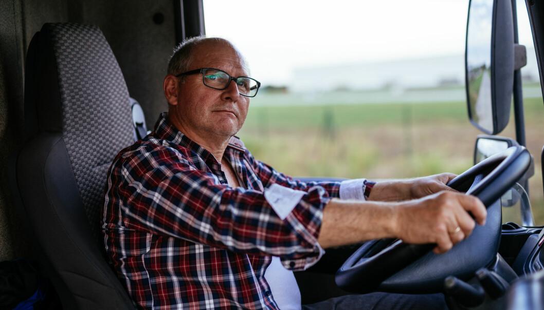 Nesten én av ti yrkessjåfører i Sverige har type 2-diabetes. Men mye stillesitting forklarer ikke alt. Mannlige dataspesialister har for eksempel ikke så ofte sykdommen. (Foto: bbernard / Shutterstock / NTB scanpix)