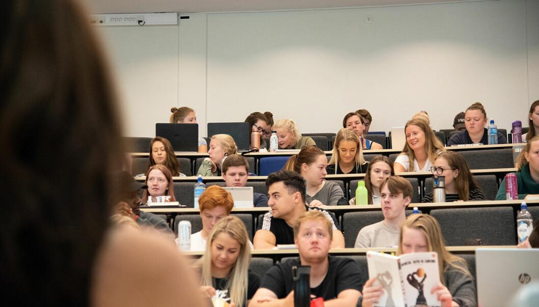 Betydningen av pedagogisk kompetanse hos fagansatte har kommet mer i fokus innen forskningsmiljøer og hos studenter og fagansatte. (Foto: Roger Grostad)