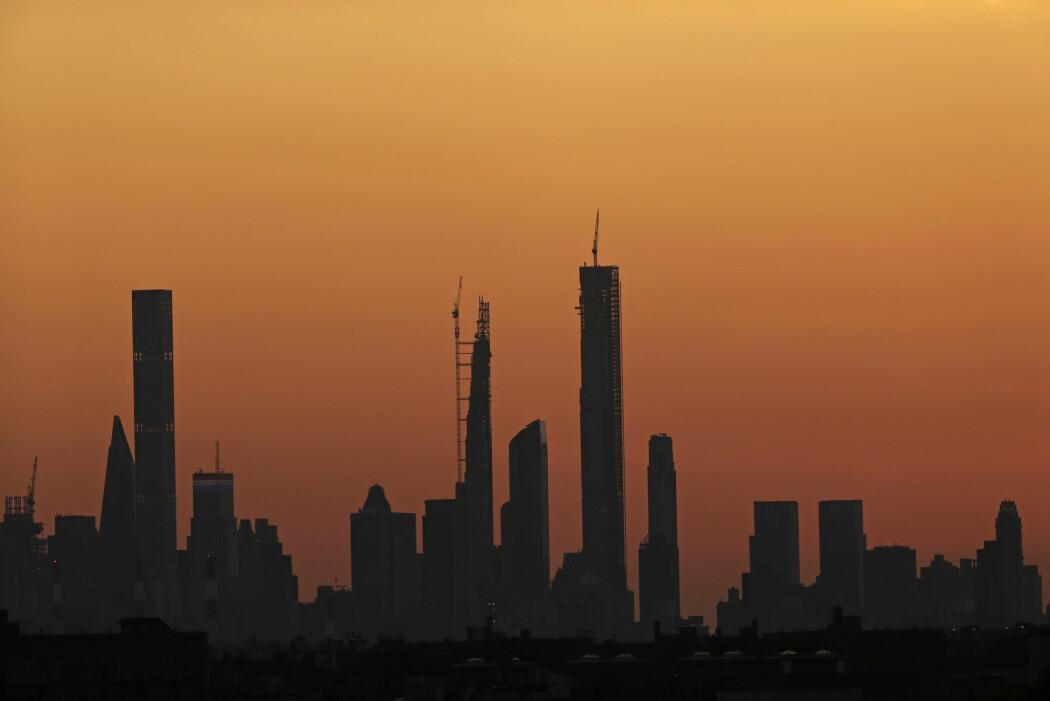 Hvis den globale oppvarmingen får gå sin gang, kan New York bli ubeboelig, mener klimaforskere. (Foto: Adam Hunger / AP / NTB scanpix)