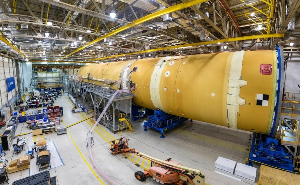 Bildet er fra NASAs lokaler i New Orleans i USA. (Foto: AP, NTB scanpix)
