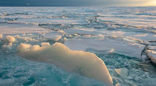 Ny metode for varsling av vær i Arktis