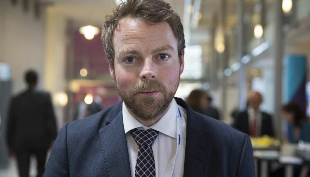 Kunnskapsminister Torbjørn Røe Isaksen vil ha nasjonale prøver i høyere utdanning. (Foto: Berit Roald, NTB Scanpix)