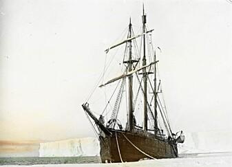 Polarskuta Fram, det første skipet som ble spesielt konstruert i Norge for polarforskning. (Foto: Frammuseet)
