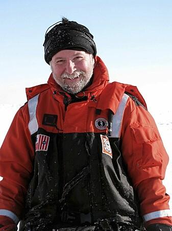 Rolf Gradinger, leder for økosystemforskningen på MOSAIC ekspedisjonen. (Foto: Karen Frey)