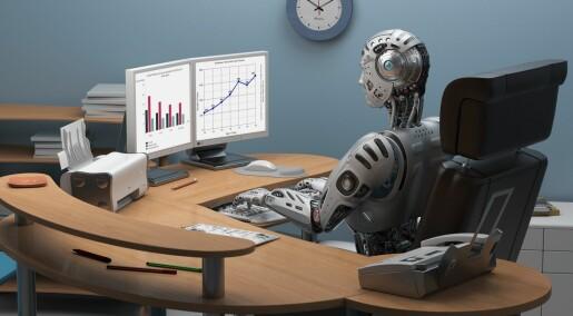 Er vi klare for robotenes inntog i arbeidslivet?