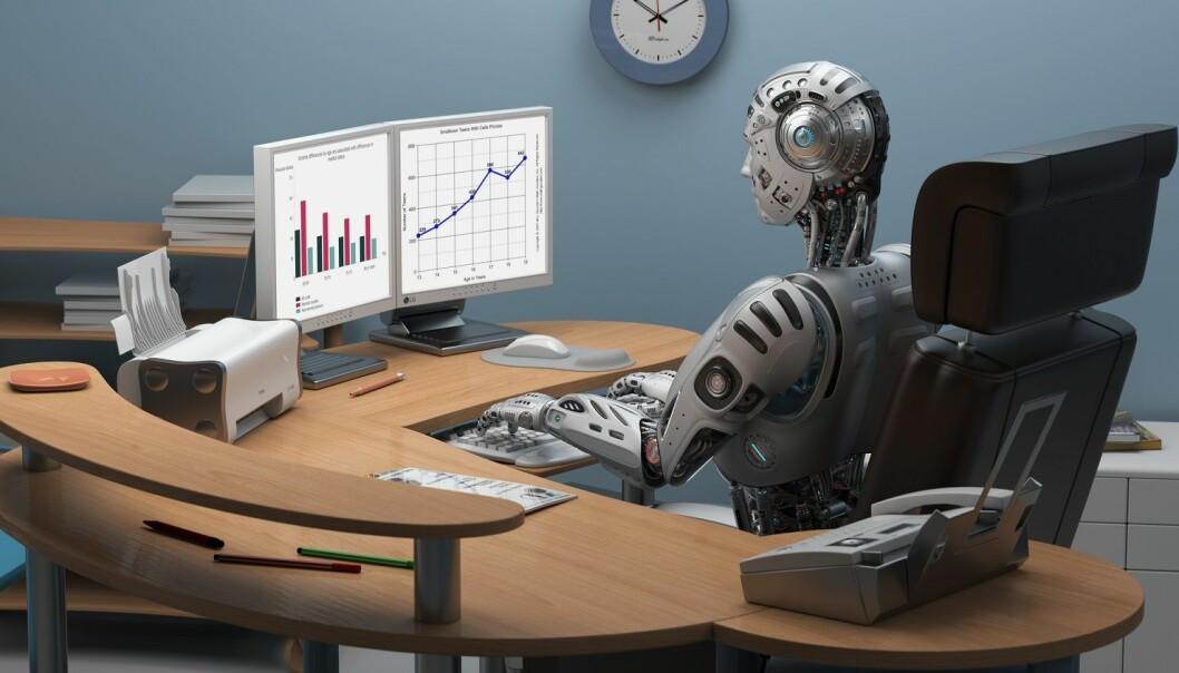 Hvor godt egnet er vi til å takle utfordringene som digitalisering og automatisering bringer med seg? (Illustrasjon: Mykola Holyutyak / Shutterstock / NTB scanpix)