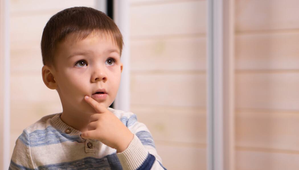 Barnas evne til å huske fremtidige planer er rett og slett ikke ferdig utviklet enda. (Illustrasjonsfoto: VK1971 / Shutterstock / NTB scanpix)