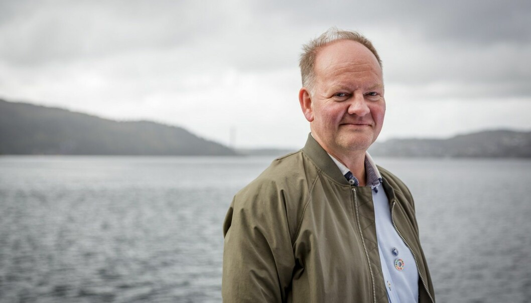 Geir Ottersen er ein av hovudforfattarane bak kapittelet om nordområda i den nye klimarapporten om hav og is. (Foto: Erlend A. Lorentzen / Havforskningsinstituttet)