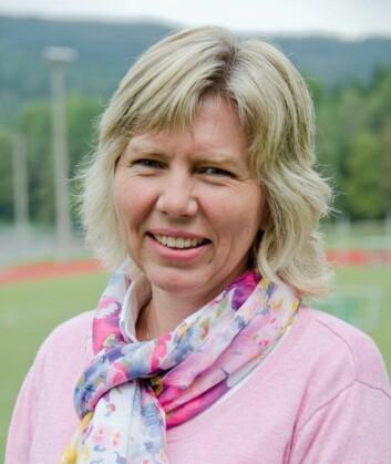 Hilde Moseby Berge ved Norges Idrettshøgskole. (Foto: Andreas B. Johansen)