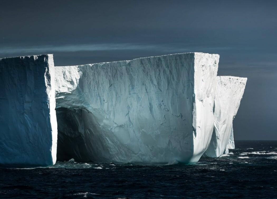 De dype iskappene i Antarktis gir forskerne et innblikk i hvordan klimaet var for hundrevis, tusenvis og millioner av år siden. (Foto: Andreas Wolden / Havforskningsinstituttet)