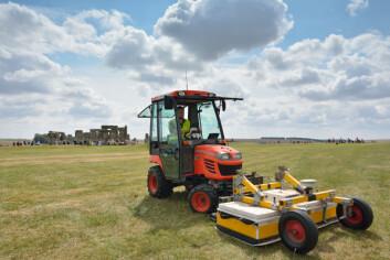 Motorisert jordradar som ble brukt i prosjektet. (Foto: University of Birmingham)