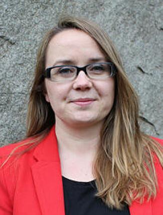 Politiforsker Johanne Yttri Dahl har vært med ute i felten på spaning, og utviklet uttrykket spaningsblikket. (Foto: Politihøgskolen)