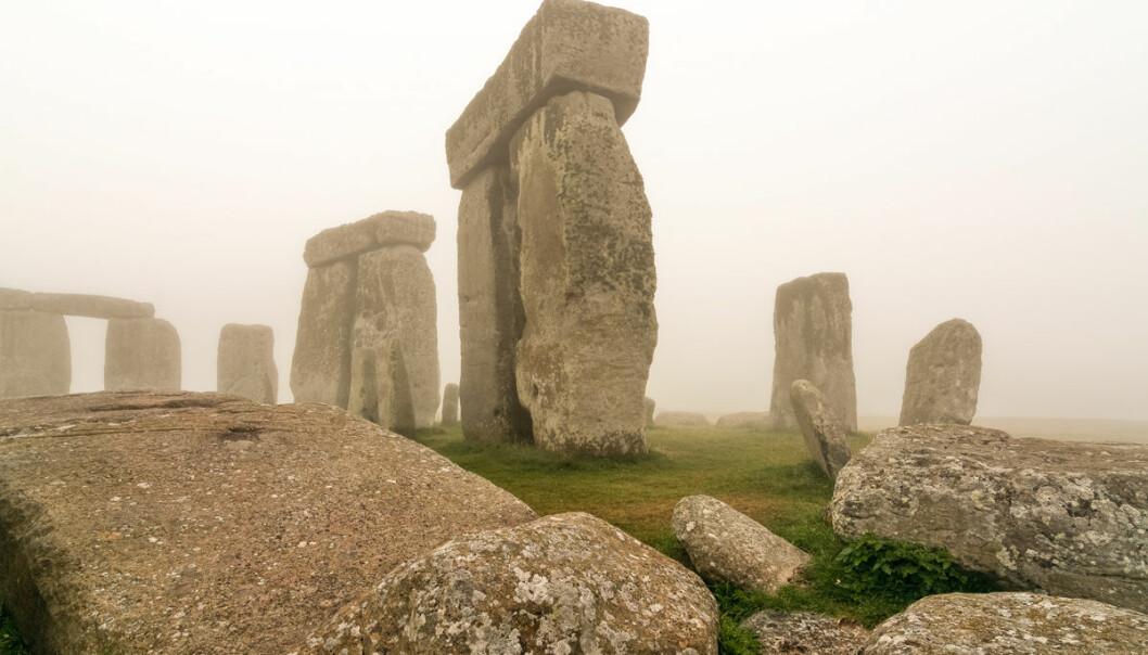 Stonehenge i morgendis. (Foto: University of Birmingham)
