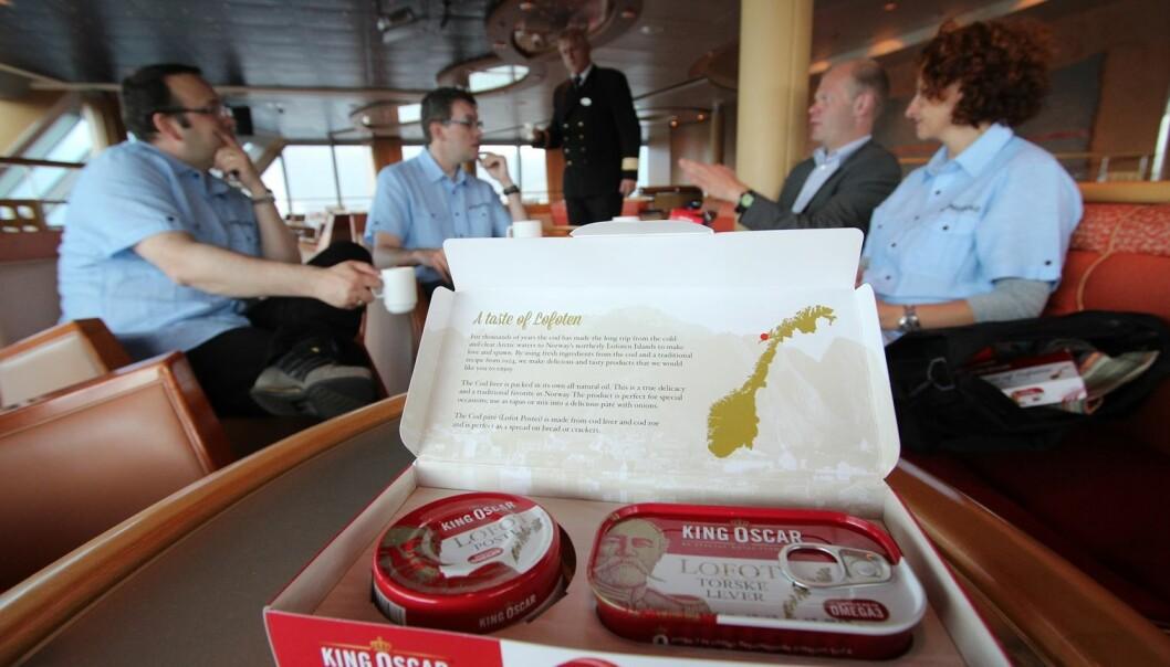 Forskerne testet ut denne matsuverniren, og det viste seg at betalingsviljen blant turistene lå på om lag 99 kroner.   (Foto: Bjørn Tore Forberg)
