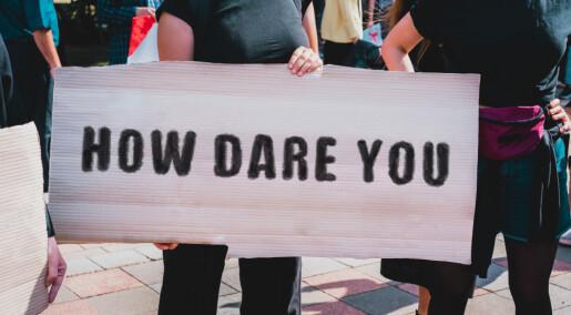 Bør klima-aktivister slutte med skremselstaler?