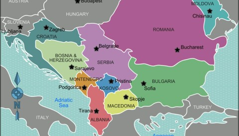 Kart europa 2020