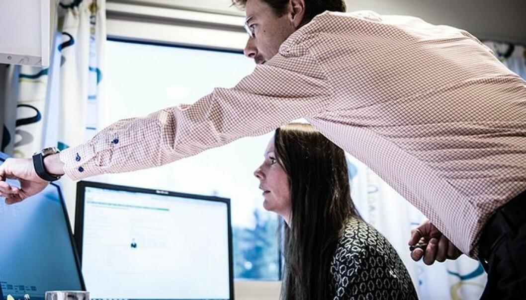 Det er ikke nok å installere et nytt datasystem, og tro at teknologien skal ordne opp på egen hånd, mener forsker Ann-Kristin Elstad.  (Foto: HBV)