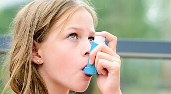 Fars overvekt i puberteten øker risikoen for at barna hans får astma