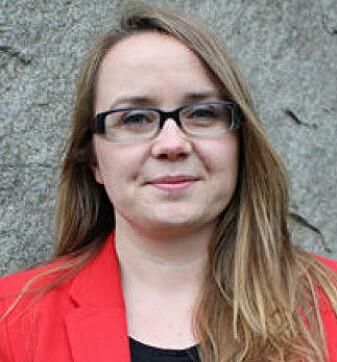 Forskeren Johanne Yttri Dahl har vært med spanere på jobb og intervjuet mange i forskningen sin. (Foto: Politihøgskolen)