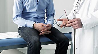 Så mye dårligere sexliv får de som opereres for prostatakreft