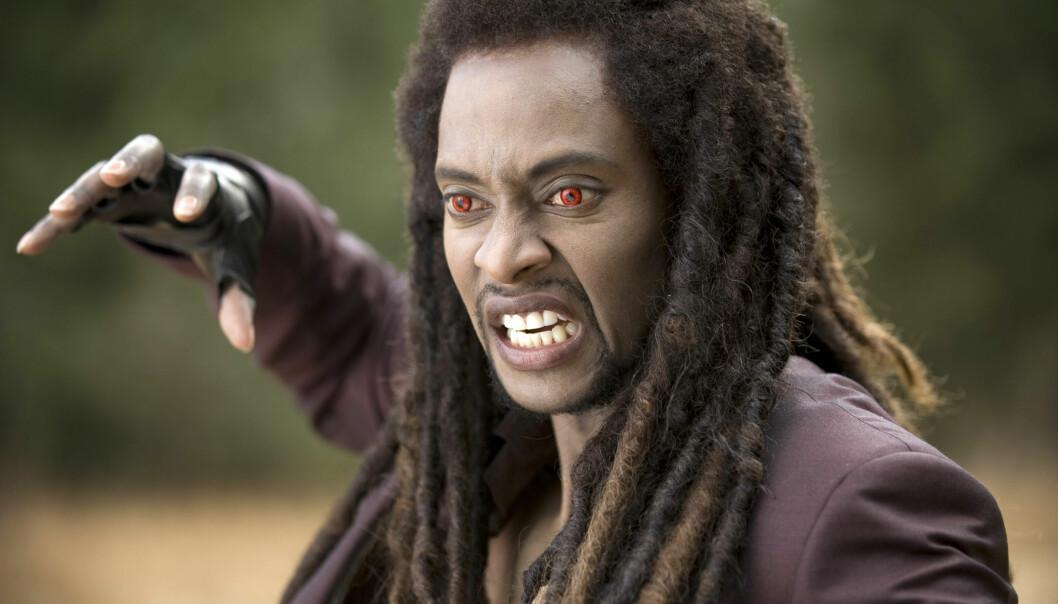 Laurent (spilt av Edi Gathegi) er en vampyr i filmen «The twilight saga: New Moon» med sans for blod. Men er det å leve av? (Foto: Nordisk Film Distribusjon AS)