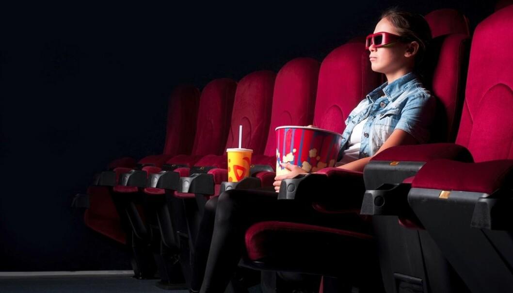 Å se en film i 3D koster betydelig mer enn å se den i 2D. Er det verdt pengene? (Foto: Colourbox)