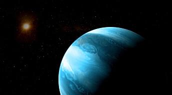 Enorm planet rundt liten stjerne overrasket forskere