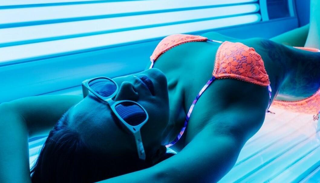Risikoen for hudkreft øker med økende solariebruk