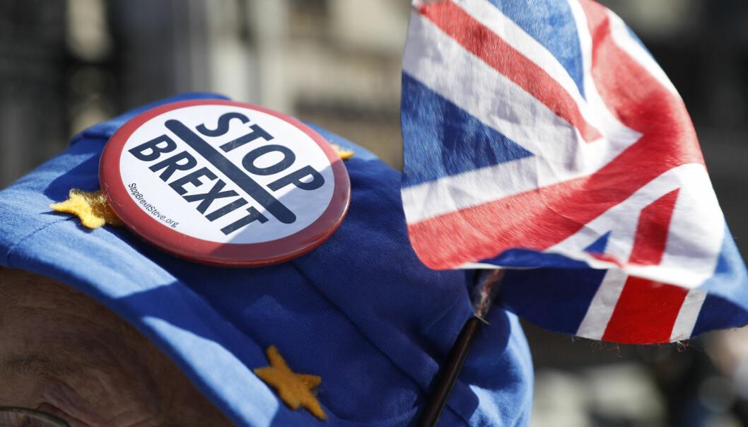 Brexit kan være stressende for noen hver, og for enkelte kan det gå på helsa løs. (Illustrasjonsfoto: Alastair Grant / AP / NTB scanpix)