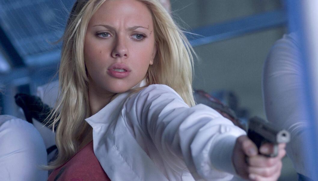 Scarlett Johansson i 2005-filmen The Island. (Foto: Dreamworks)