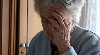 Smertestillende roer demenspasienter