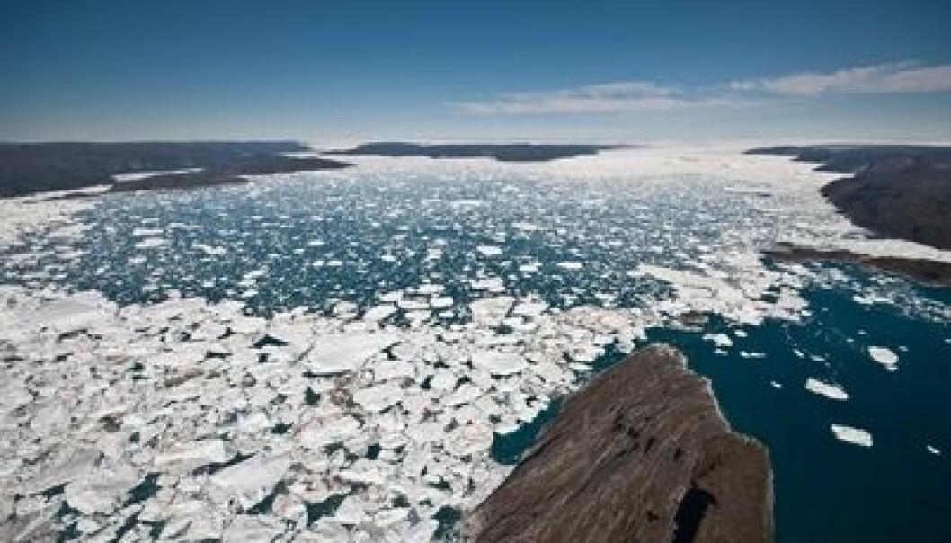 Smeltingen av is både på Grønland og i Antarktis fordoblet