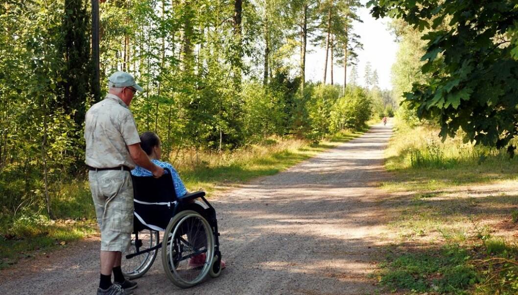 Eldre som jobber frivillig kan dra flere helsefordeler fra arbeidet.  (Foto: Colourbox)