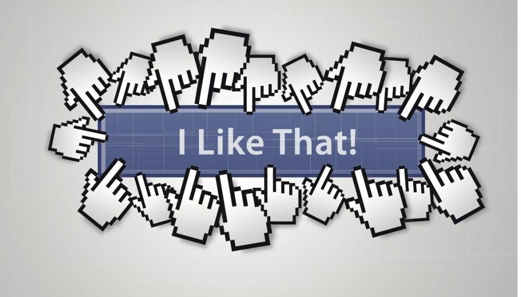 Aktive brukere av sosiale medier som Facebook, er i mindre grad enn andre villige til å lufte avvikende meninger om politikk og samfunn. (Illustrasjon: Colourbox)
