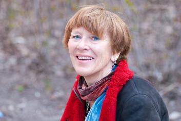 HiOA-forsker Astrid Bergland ved Institutt for fysioterapi. Foto: Sonja Balci / HiOA