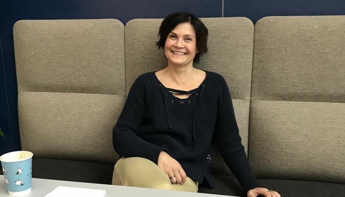 – Det er behov for en en gjennomgang og rydding, sier seniorforsker Kari Dyb ved Nasjonalt senter for e-helseforskning. (Foto: Lene Lundberg)