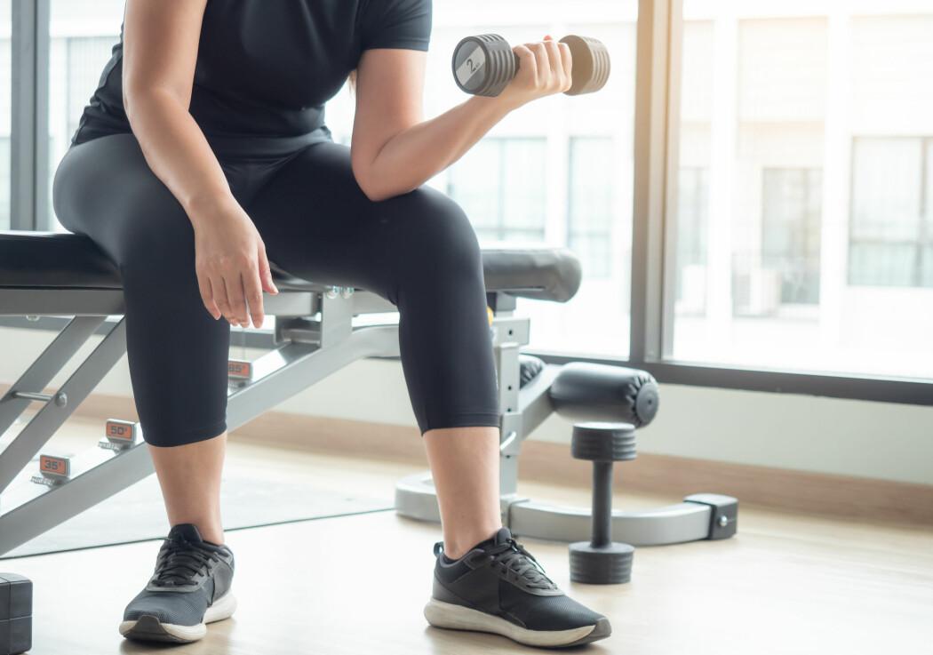 Utøvere som sliter med skade, kan komme raskere i gang med styrketreningen ved å drive med det som kalles okklusjonstrening. (Illustrasjonsfoto: Arlee.P / Shutterstock / NTB scanpix)